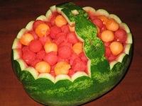 watermeloen korf